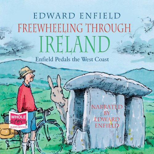 Freewheeling Through Ireland audiobook cover art