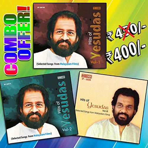 Hits Of K.J. Yesudas Vol- 1,2 & 3 Malayalam