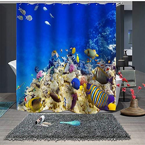 cortinas de baño tortugas