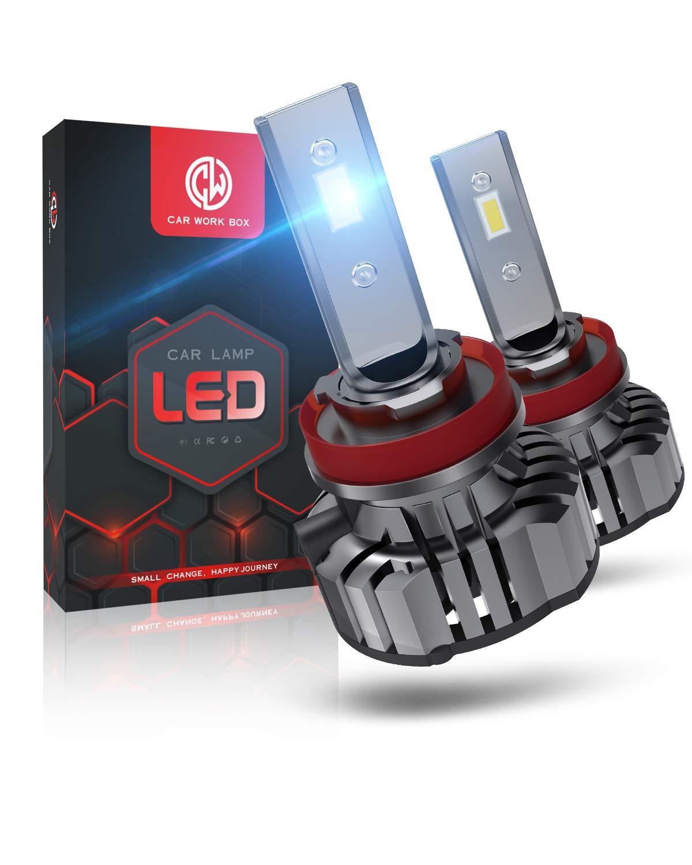 Lampadine 6000K 12V H7 LED 12000LM 60W