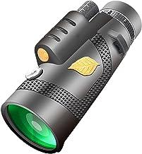 DFHT Hd-teleskop, spottande teleskop anslutet till mobiltelefon, enkel atmosfär kan användas med en hand, för utomhus, res...