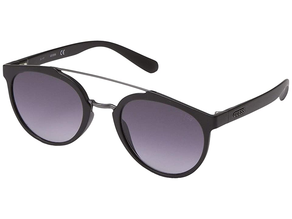 GUESS GU6925 (Shiny Gunmetal/Brown Polarized) Fashion Sunglasses