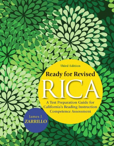 Ready for Revised RICA: A Test Preparation Guide for...
