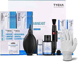 TYCKA Professional Camera Cleaning Kit for Optical Lens and Sensor, DSLR Cameras, 15ml Sensor Cleaner and 60ml Lens Cleane...
