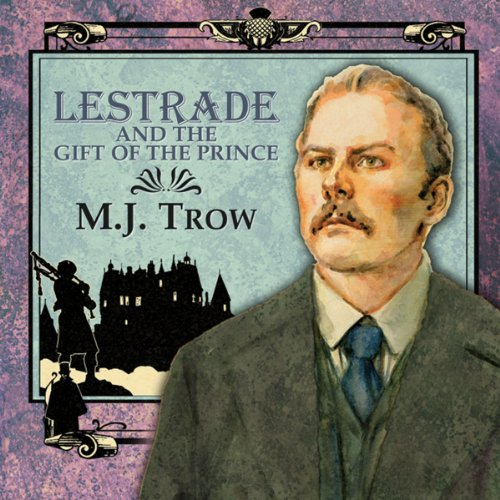 Lestrade and the Gift of the Prince audiobook cover art