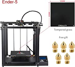 Creality Ender 5 3D Printer with Glass Bed and Five Nozzles 2019 New Version