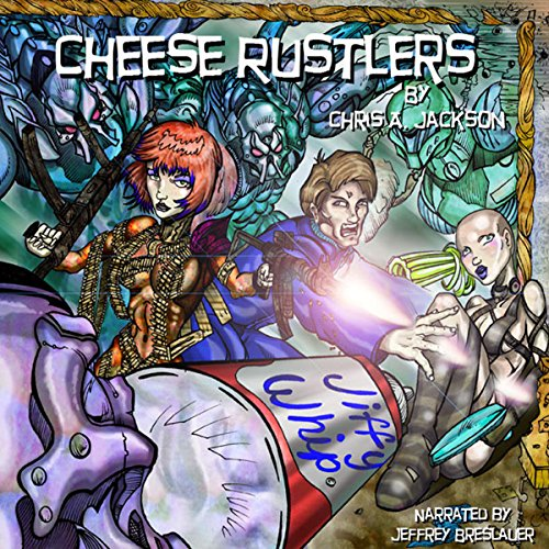Cheese Rustlers  By  cover art