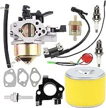 Milttor GX 390 Carburetor 17210-ZE3-505 Air Filter Fit Honda GX390 Carburetor GX340 GX 340 13HP 11HP Lawn Mower Tiller Cultivator Dingo TX 413 188F Generator 16100-ZF6-V01 16100-ZF6-V00