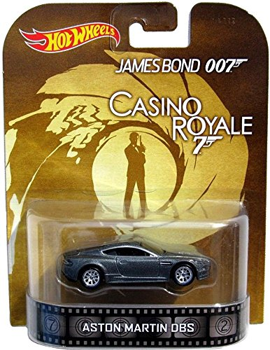 Aston Martin DBS James Bond 007 Casino Royale Hot Wheels 2014 Retro Series Die Cast Vehicle by Hot Wheels
