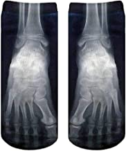 X-RAY ANKLE SOCKS BY LIVING ROYAL