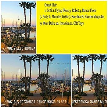 Vol.8 Electronica Dance Music (Continuous Dj Mix)