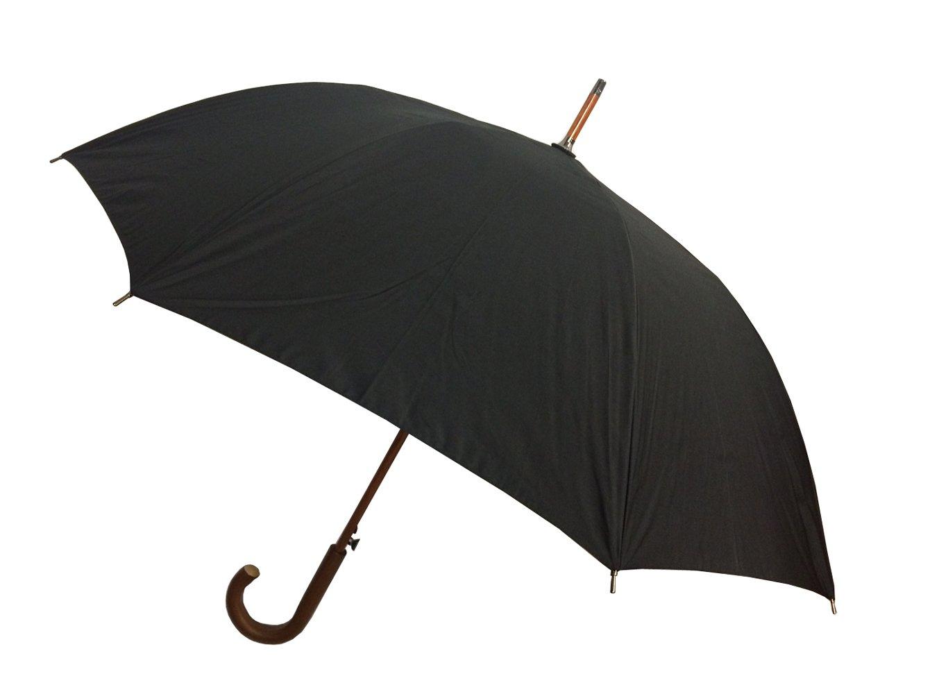 London Fog Stick Umbrella Black