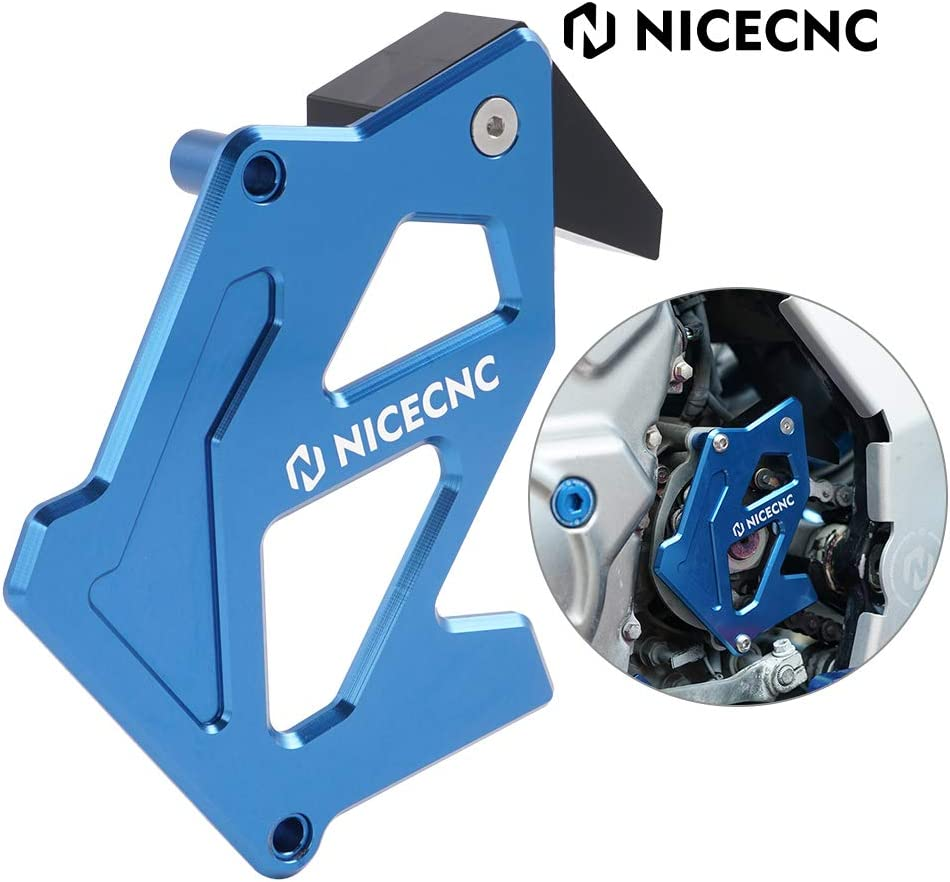 NICECNC Blue Crank Milwaukee Mall Case Saver Spring new work Compati Sprocket Cover Guide Chain