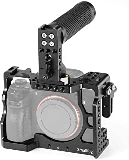 SMALLRIG A7RIII, A7 III Camera Cage for Sony A7riii,A7iii (A7r3,A73) Case Accessorry Kits Handle, HDMI Cable Lock - 2096