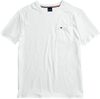 Tommy Hilfiger Men's Adaptive Pocket T Shirt with Magnetic-Buttons at Shoulders