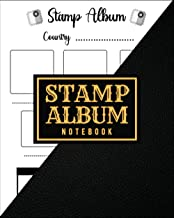 Stamp Album Notebook: Stamp Collecting Album to Collect Your All Favorite Stamp or Currencies | Stamp Album for Kids and A...