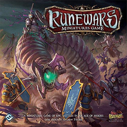 Fantasy Flight Games ffgrwm01Runewars Miniaturen Spiel Core Set