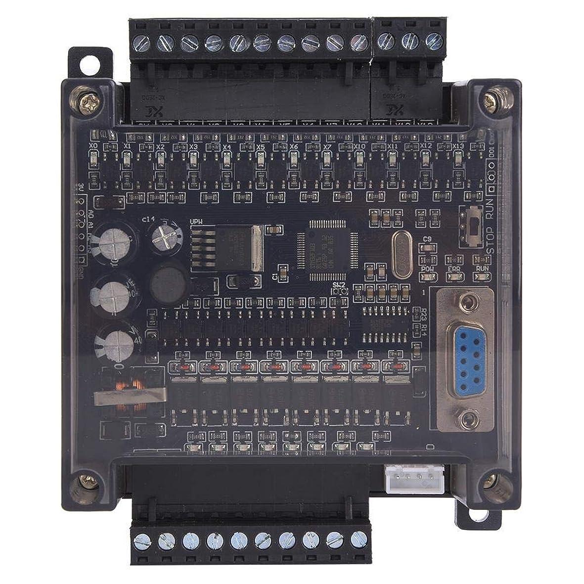 ファンシーについて干し草プログラマブルコントローラーモジュール、FX1N 20MT PLCボード産業用制御ボード、Mitsubishis GX Developer 8.XX用ブラウンシェル