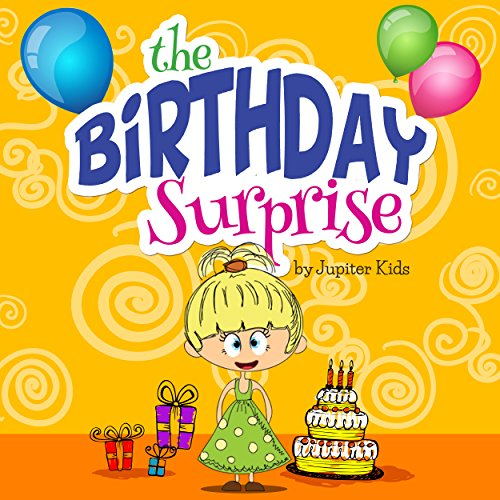 The Birthday Surprise audiobook cover art