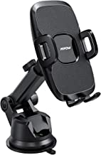 Mpow Dashboard Car Phone Mount, Windshield Car Phone Holder, 2 Suction Levels, Washable Gel Pad Compatible iPhone 11 Pro/Max/X/XS/XR/8Plus/8/7Plus/7/6Plus, Google, One Plus, Moto