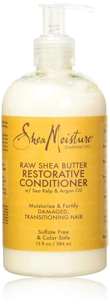 宇宙飛行士透明に誓いShea Moisturee Raw Shea Butter Restorative Conditioner 13oz