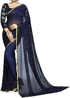 1a97d403a9 Chiffon Women's Sarees: Buy Chiffon Women's Sarees online at best ...