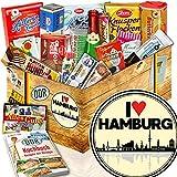 I love Hamburg - Süßigkeiten-Set DDR - Geburtstagsüberraschung Hamburg