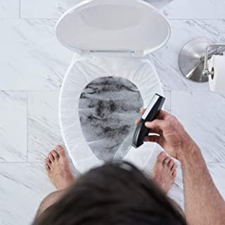 "BEARD KING - The Official Bush Bib - Body Hair Clippings Catcher & Manscaping Grooming Net - ""As Seen on Shark Tank"" - Perfect Gift for Men (5 Pack)"