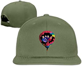 Male/Female Official Poster Of A Head Full Of Dreams Tour Cotton Flat Snapback Baseball Caps Adjustable Mesh Hat Baseball Cap White One Size Fits Most