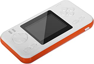 SODIAL Power Bank Video Game Console Handheld Game Retro Game Console 416 Styles Classic Game Gamepad Orange+White