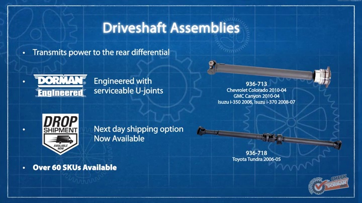 Driver Side Left Front GSP NCV69607 CV Axle Shaft Assembly