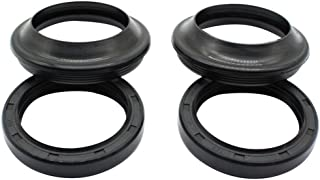 Cyleto Front Fork Oil Seal and Dust Seal Kit 39 x 51 x 8/11mm for Honda VT600C VT600 C Shadow 600 VLX 1988-2003 / VT600CD Shadow 600 VLX Deluxe 600 1993-2003