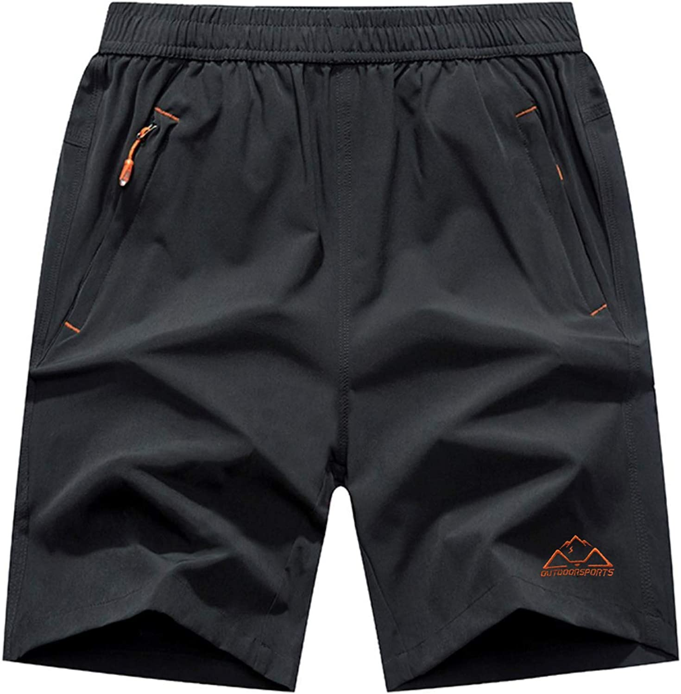 Rdruko Men's Quick Dry Baltimore Mall Popular brand Hiking Lightweight Running Shorts Workout