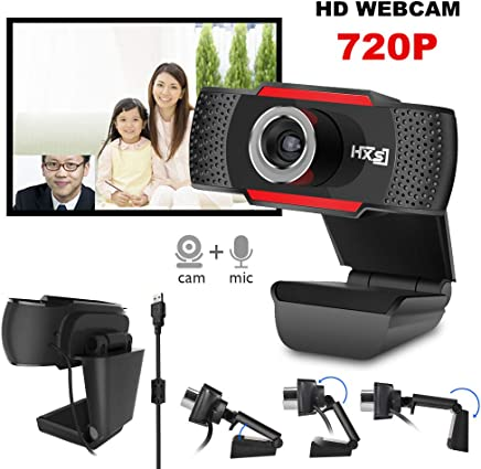 SSCJ Webcam 1080P HD Streaming Webcam USB e Laptop Webcam Plug And Play Videocamera per Computer Video Microfono Incorporato Clip Girevole Flessibile a 120 ° - Trova i prezzi più bassi