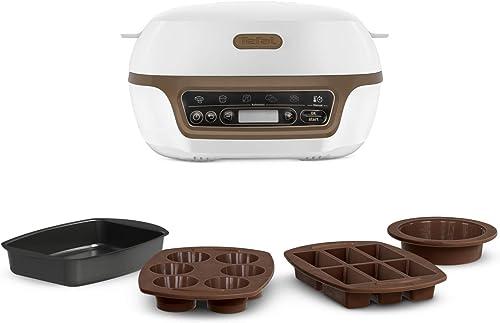 Tefal Cake Factory Machine Intelligente à gâteaux, Appareil, Cuisson, Conviviale, Pâtisserie, Machine à pain, Muffins...