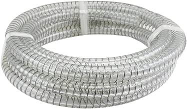 clear pvc wire reinforced flexible hose
