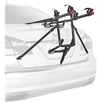 Allen Sports Deluxe 2-Bike Trunk Mount Rack, Model 102DN-R