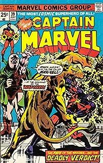 Captain Marvel (1st Series) #39 FN ; Marvel comic book
