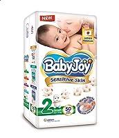 حفاضات الاطفال من بيبي جوي، مقاس بريميوم 2 - 50 حفاض