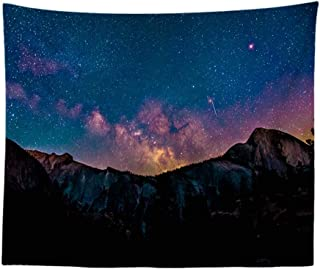 JYKING Decorative Star Hanger Bedroom Sofa Background Wall Cloth Wall Tapestries Simple Scenery Tapestry 420 100-150