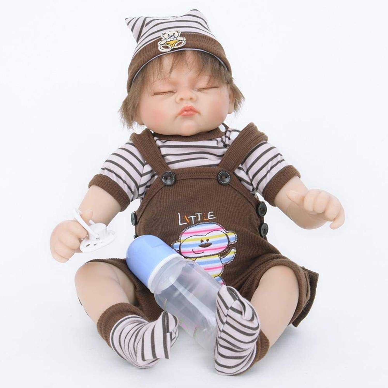 Hongge Reborn Baby Doll,Lebensechte Puppe Spielzeug realistische Prinzessin Spielzeug Kindeskinder Geburtstagsgeschenk 55cm B07HJ437MJ Modern  | Erschwinglich