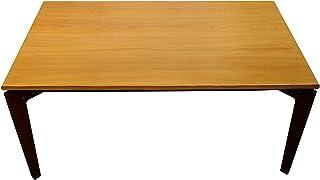 TrackDesign LEGGERO | Table en bois et corten extensible - Dim: L 160cm P 100cm H 75cm