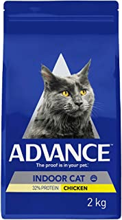 Advance Indoor Cat Dry Food, Adult and Senior, 2kg