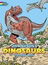 Jim Lawson's Dinosaurs Coloring Book