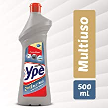 Multiuso Ypê com Álcool 500 ml, Ypê, Cinza