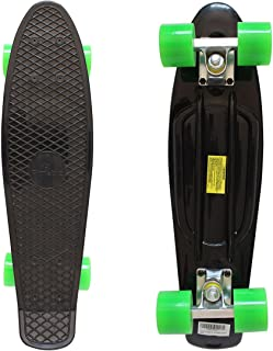 penny board trucks on skateboard