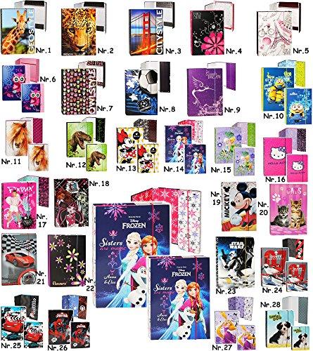 alles-meine.de GmbH 2 TLG. Set _ Ordner / Heftbox / Heftordner - A4 + A5 -  Hello Kitty - Katze  - für Hefte, Zettel und Mappen - Glanz Druck - Heftmappe & Gummizugmappe - Ordn..