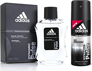 Adidas Men's Dynamic Pulse EDT and Deodorant (Set of 2)
