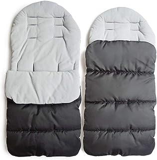 MHOYI Winterfusssack, Universal Kinderwagen fußsack, Winter Baby Warm Schlafsack, Buggy Fleece Sack, Kinderwagensack Geeignet für 0-36 Babys