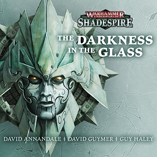 The Darkness in the Glass audiobook cover art